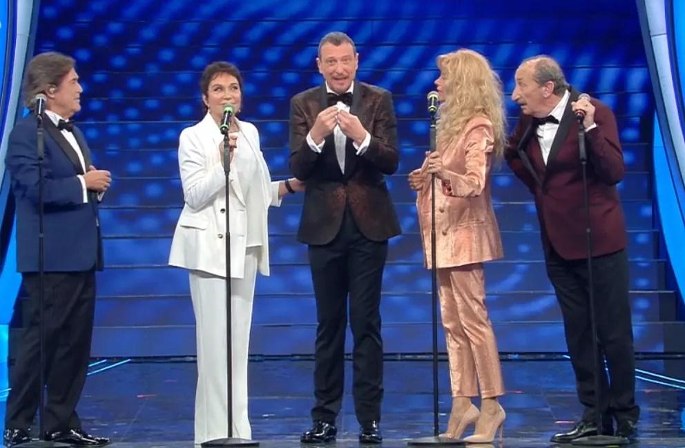 """Sanremo 2020 ascolti seconda serata, il festival sale ancora al 53,3%, picchi al 62,3 % con """"I Ricchi e Poveri"""""""