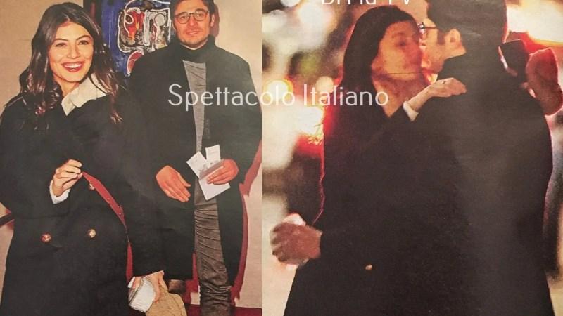 Alessandra Mastronardi e Lino Guanciale al Teatro Eliseo per Elena Sofia Ricci (Di Più Tv)