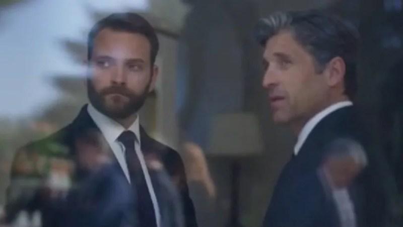 Alessandro Borghi e Patrick Dempsey nelle prime due puntate della serie tv Diavoli (VIDEO)
