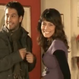 I Cesaroni repliche su Mediaset Extra dal 13 aprile, backstage scena con Alessandra Mastronardi e Matteo Branciamore (Eva e Marco)