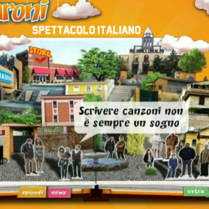 I Cesaroni sito ufficiale, foto storiche del portale da un milione di clic (che non esiste più) VIDEO