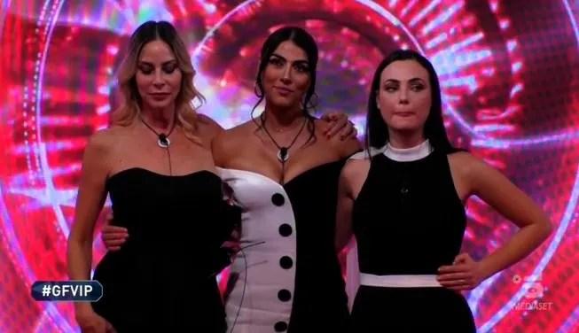 Nomination GF Vip di ieri sera, lunedì 18 gennaio. Chi sono le finaliste al televoto?