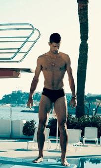 Novak Djokovic gnocco e in costume su Vogue  Spetteguless