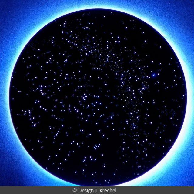 Anschlufertige Sternenhimmel  anschlieen  anbauen
