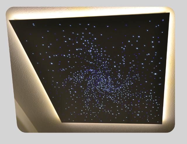 Anschlufertige Sternenhimmel  anschlieen  anbauen  fertig  speziallicht