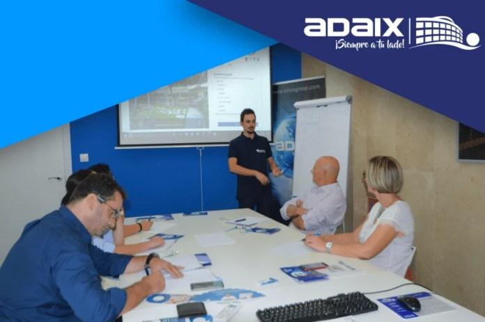 Adaix, cursos de formación para los compañeros de Zaragoza y Terrassa