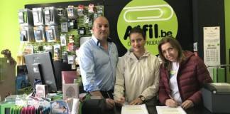 Nueva papelería en A Coruña Galicia de la franquicia Alfil