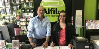 Nueva Papelería en Coslada Uruguay (Madrid) de Alfil