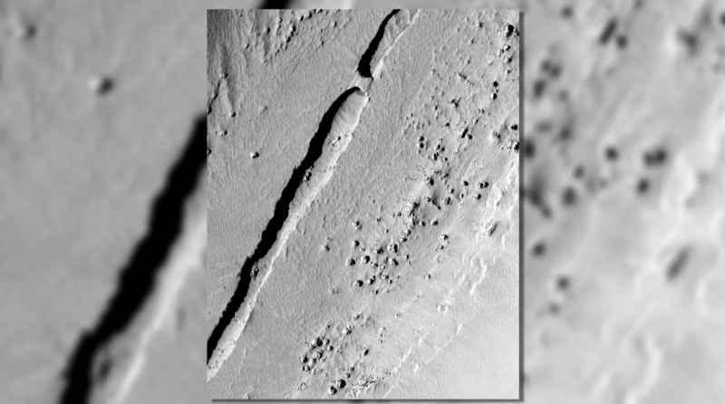 7 Lava Tubes Mars