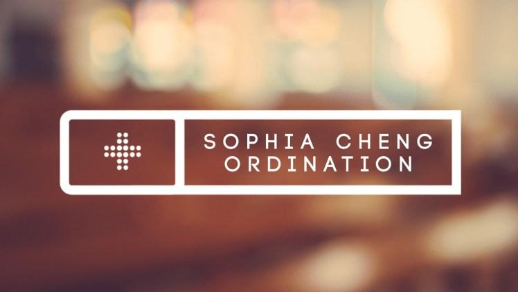 Pastor Sophia's Ordination