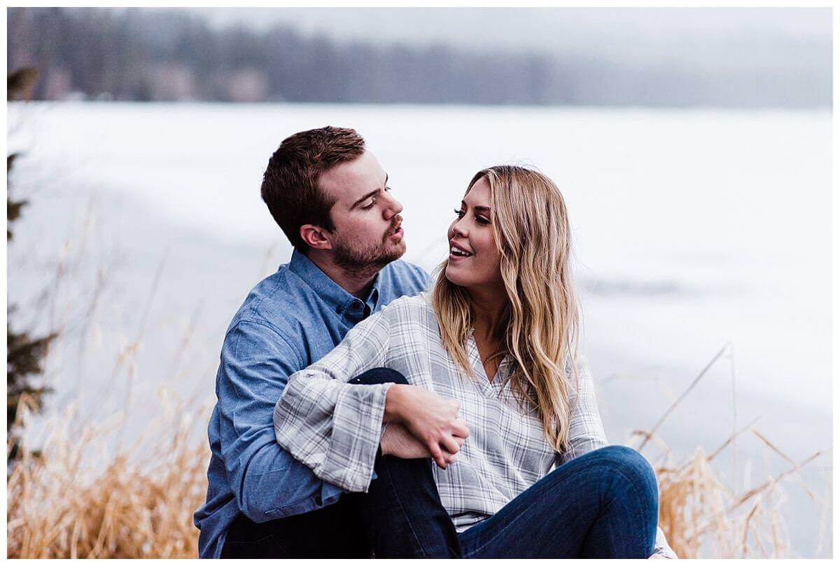 Diamond Lake Adventure Engagement Session, Oregon | S Photography | PNW Adventure Photographer