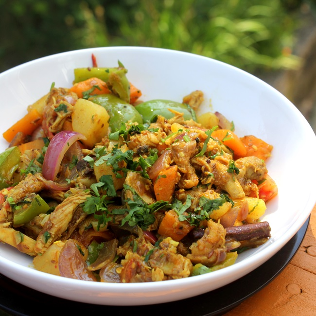 Chicken Karai or Jhalferazi
