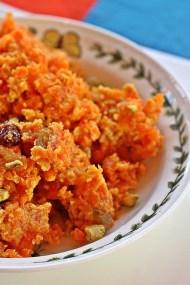 Gajar Halwa - Indian Carrot Fudge Pudding