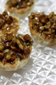 Stove Top Pecan Pie Tart