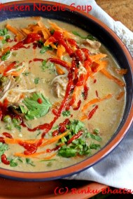 Thai Inspired Chicken Noodle Soup