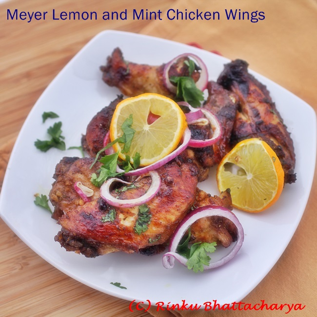 how to cook lemon chicken wings