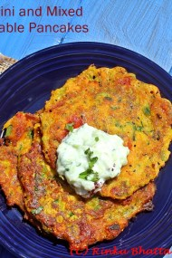 Zucchini and Vegetable Pancakes