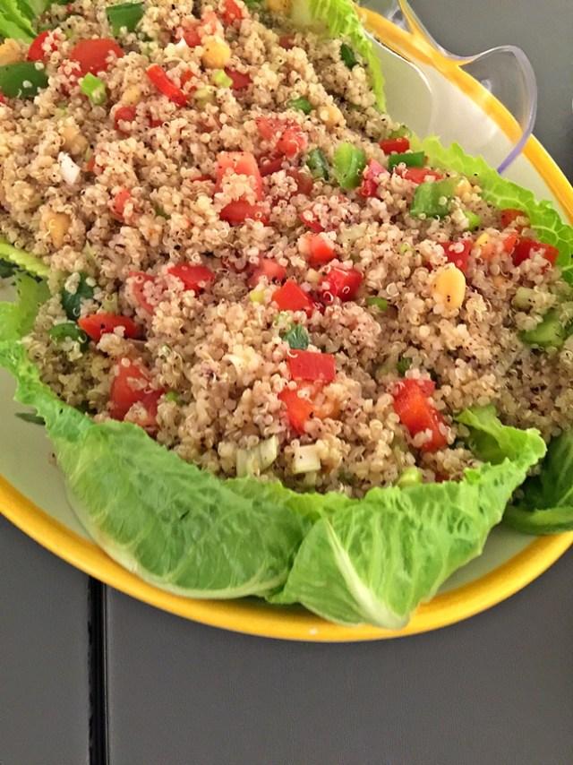 Taiim's Falafel Shack - Quinoa Salad