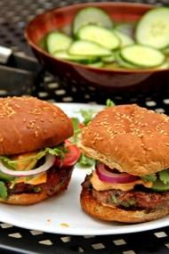 Turkey Hoisin Burgers