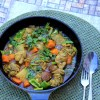 Bengali Chicken Curry with Fall Vegetables
