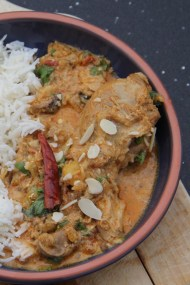 Quick and Light Chicken Korma