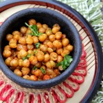 Fried Mint and Cayenne Chickpeas
