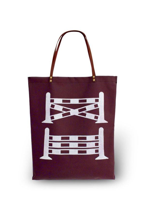 Barn Tote One Stride Web wine