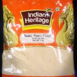 INDIAN HERITAGE BEDMI POORI FLOUR 1KG