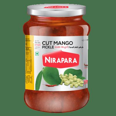 Nirapara cut Mango Pickle 400 gms