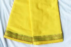 Puja Greh Pooja Yellow Cloth