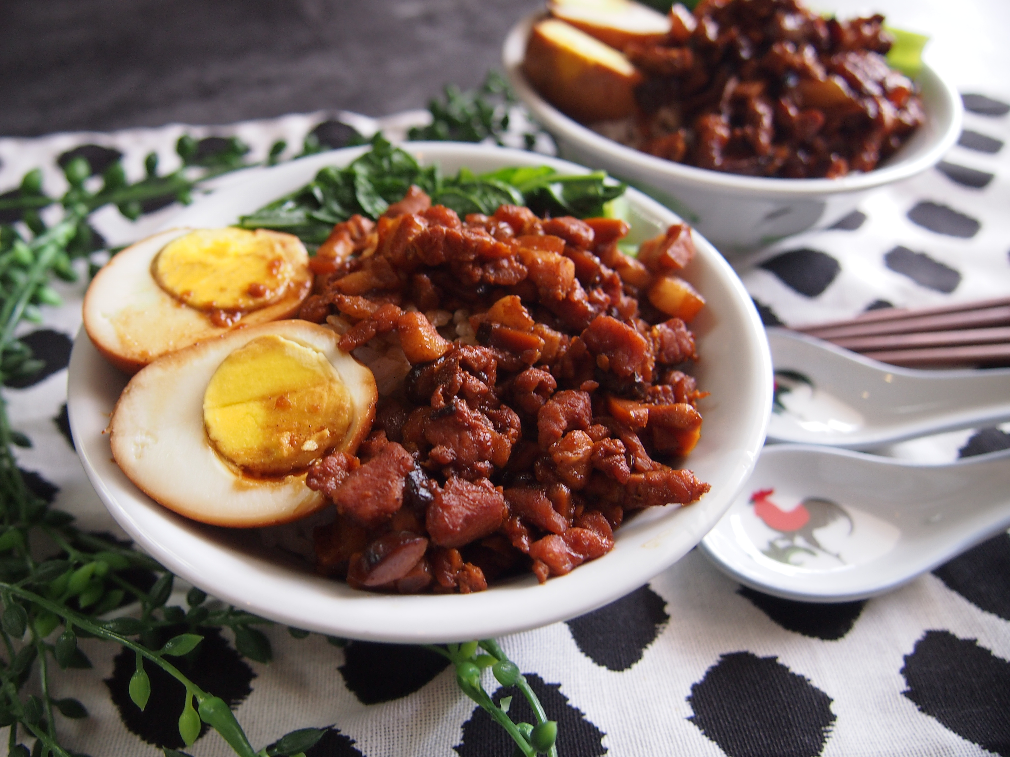 Simply Yummy Recipe: Taiwanese Braised Pork Rice 台湾卤肉饭
