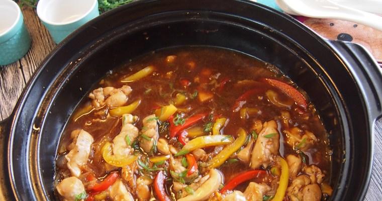 SUPER EASY & YUMMY Claypot Black Pepper Chicken