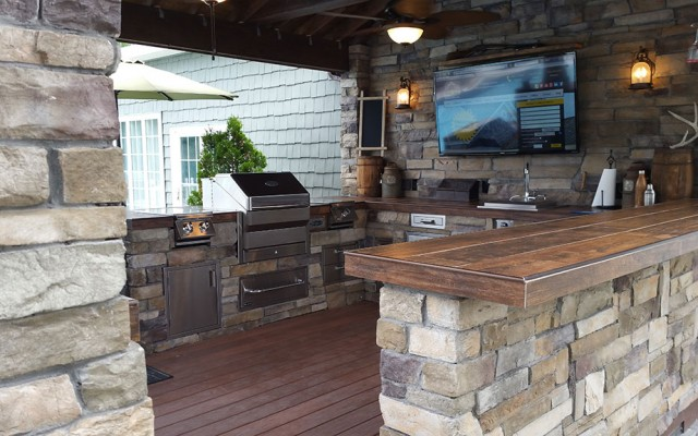 outdoor kitchens discount kitchen faucets design salisbury md spicer bros construction