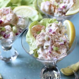 Lightened-Up Shrimp Salad
