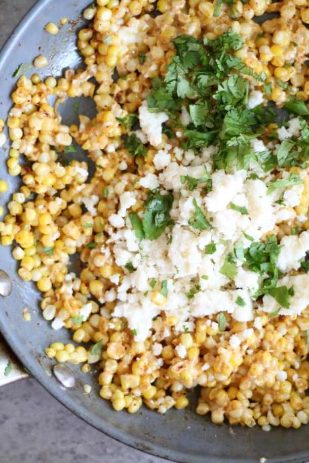 Mexican Street Corn Hot Dogs