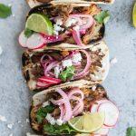 Slow Cooker Carnitas Street Tacos