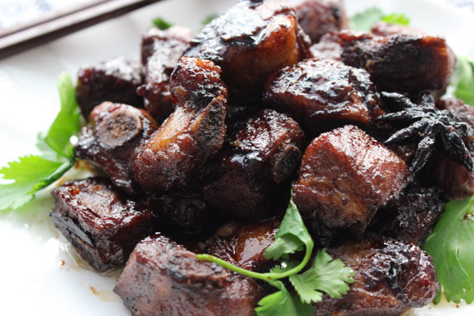 Delicious Braised Pork Ribs Spice The Plate