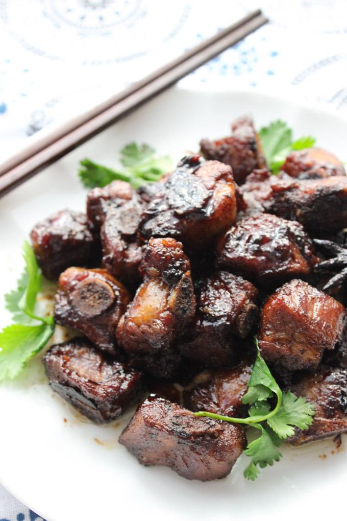 Simple Braised Pork Ribs