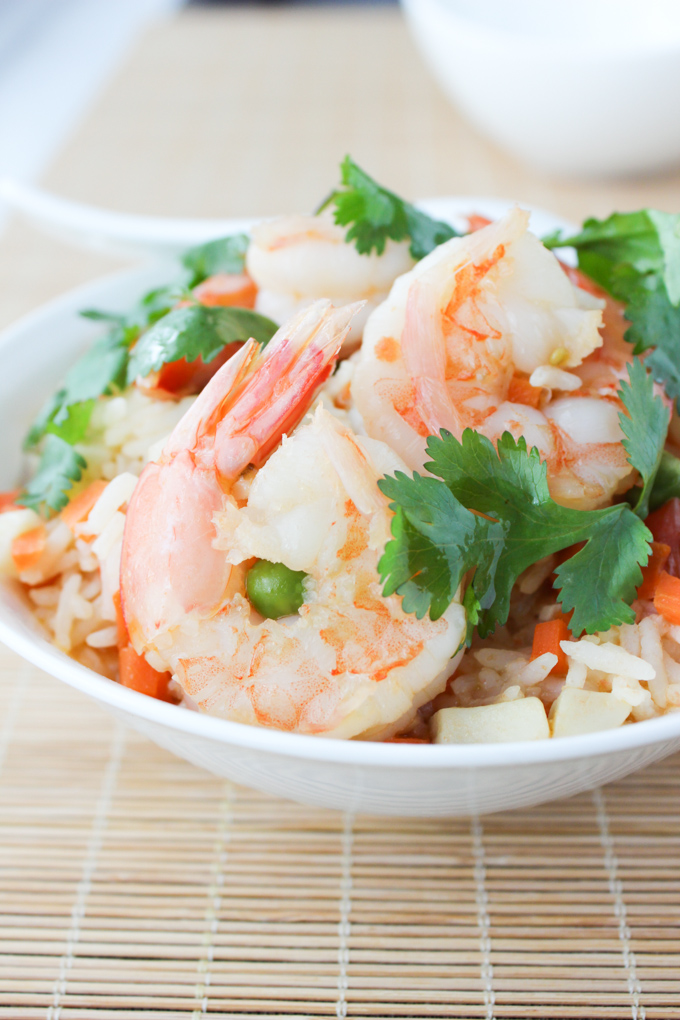 Shrimp Simmered Rice
