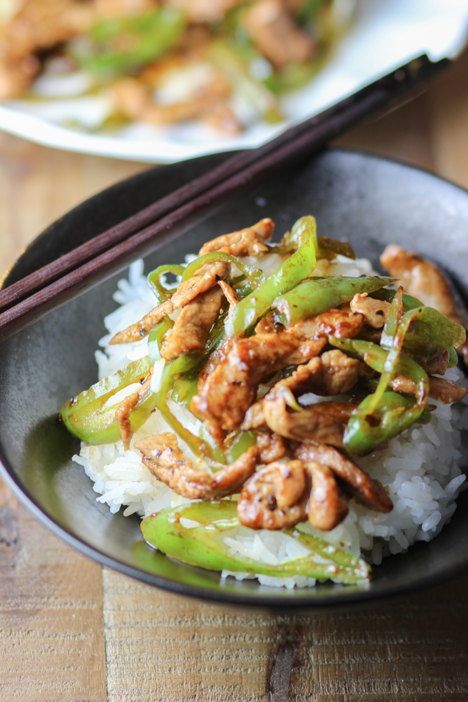 pork with green pepper