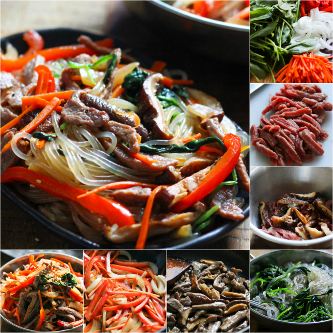 How to Make Korean Sweet Potato Noodles with Beef