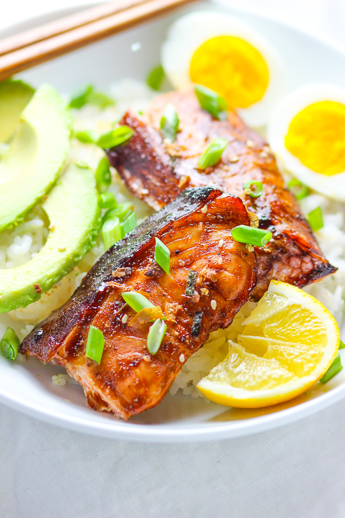 15-minute Easy Teriyaki Salmon Feature