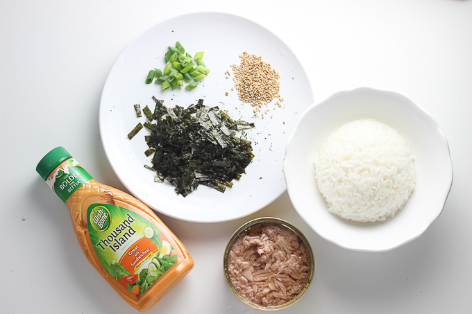 Thousand Island Tuna Rice Bowl Ingredient