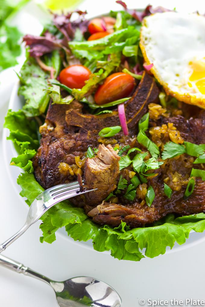 Pan Grilled Vietnamese Pork Chop Image