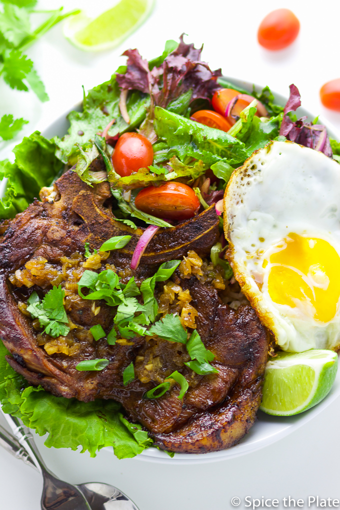 Pan Grilled Vietnamese Pork Chop