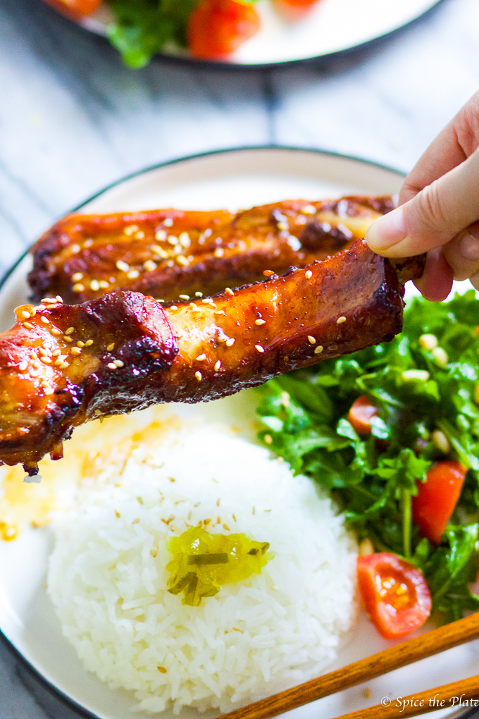 Enjoy Baked Honey BBQ Baby Back Ribs