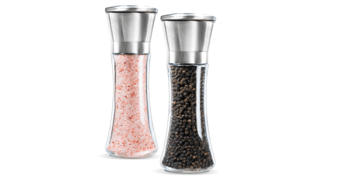 10 Gifts Under $25 for People Who Love to Cook - Salt and Pepper Mills