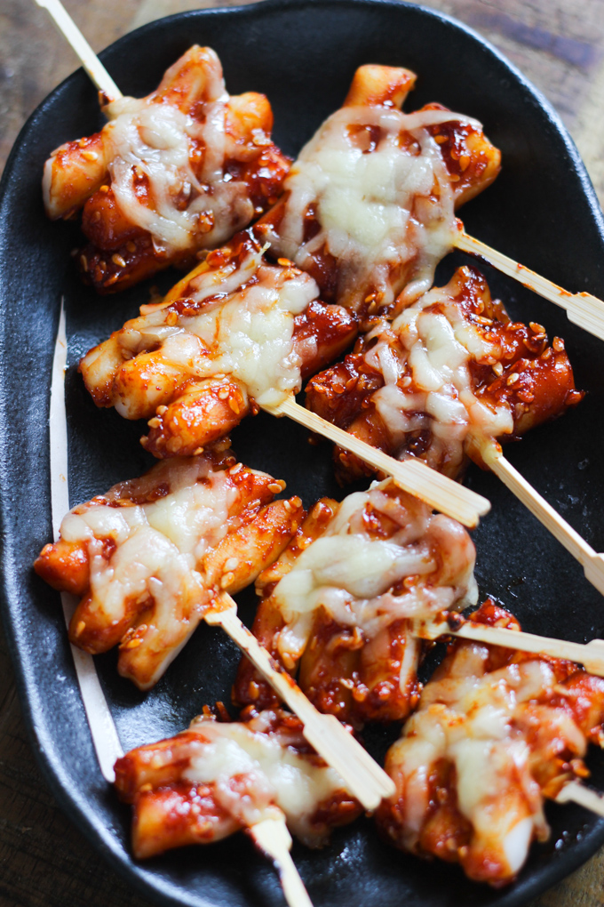 Korean Cheesy Hot Rice Cakes Picture