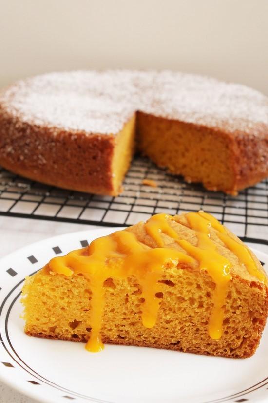Eggless Mango Cake Recipe How To Make Eggless Mango Cake Recipe