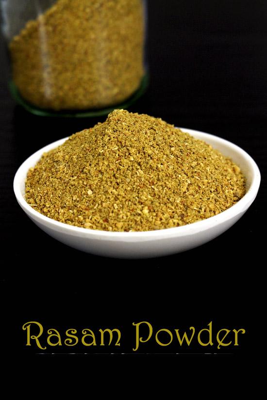 Rasam powder recipe  How to make rasam powder podi